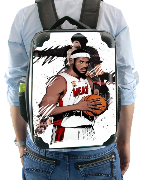 Basketball Stars: Lebron James for Backpack
