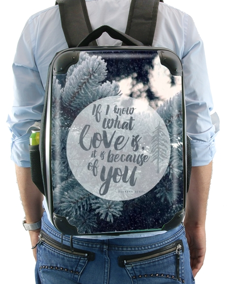 Because of You for Backpack