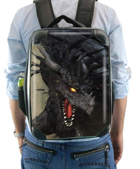 Black Dragon for Backpack