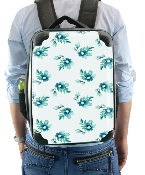 Blue Flowers for Backpack