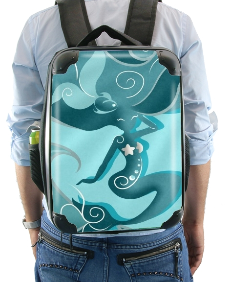 Blue Mermaid  for Backpack