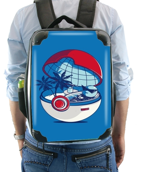 Blue Pokehouse for Backpack