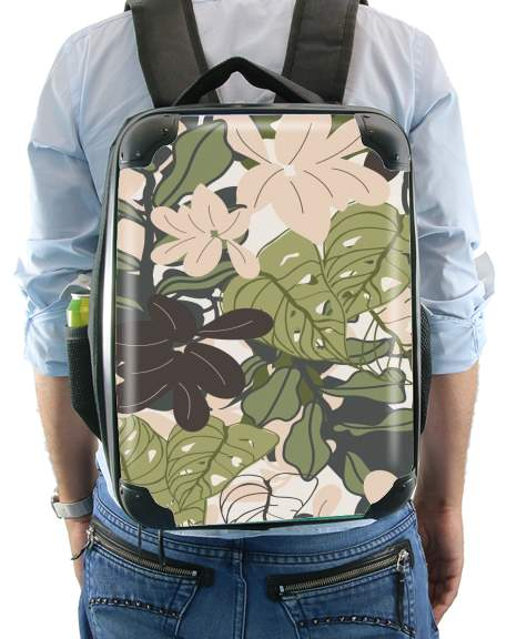 BOHEMIAN TROPICAL FOLIAGE for Backpack