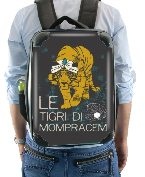 Book Collection: Sandokan, The Tigers of Mompracem for Backpack