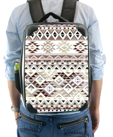 BROWN TRIBAL NATIVE for Backpack