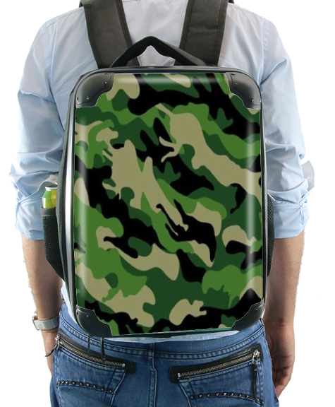 Green Military camouflage for Backpack