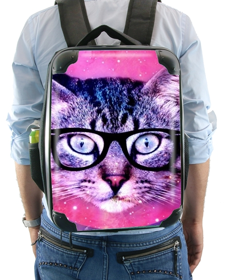 Cat Hipster for Backpack