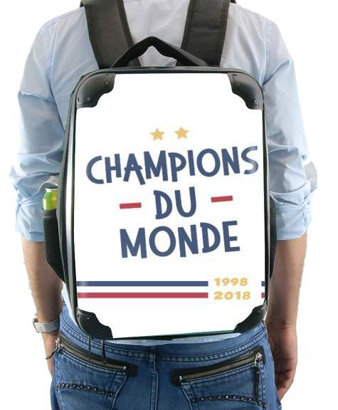 Champion du monde 2018 Supporter France for Backpack