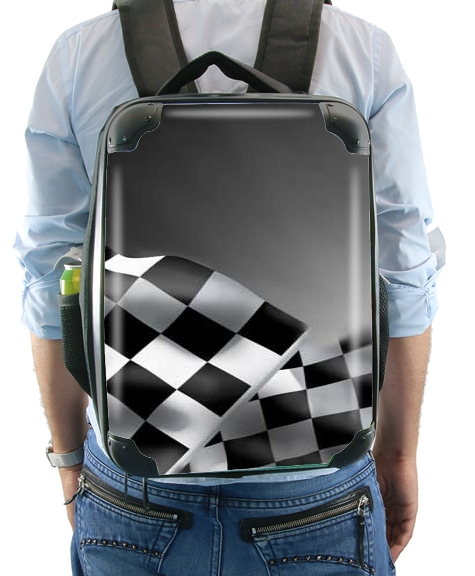 Checkered Flags for Backpack