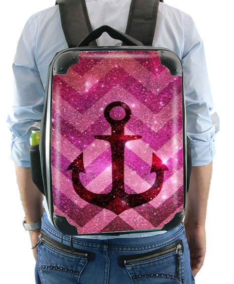 Anchor Chevron Red for Backpack