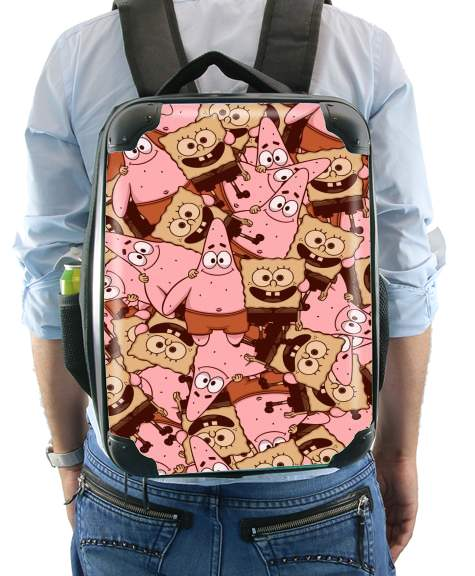 Chocolate Bob and Patrick for Backpack