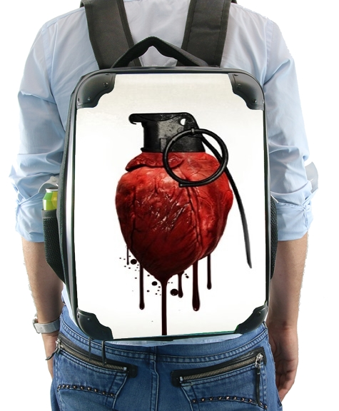 Heart Grenade for Backpack