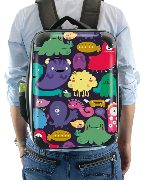 Colorful Creatures for Backpack