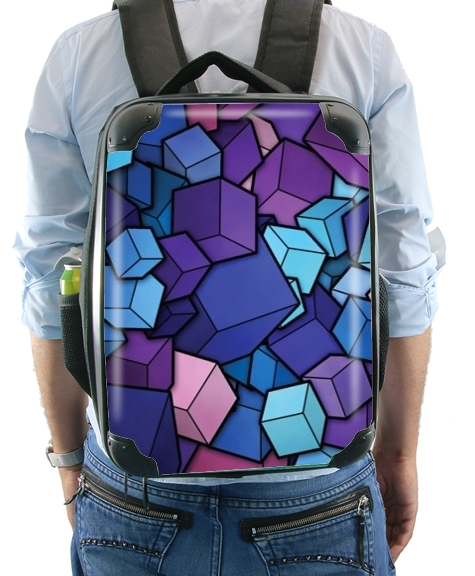Blue Cube for Backpack