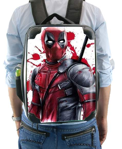 Deadpool Painting for Backpack