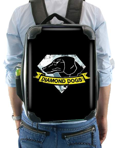 Diamond Dogs Solid Snake for Backpack