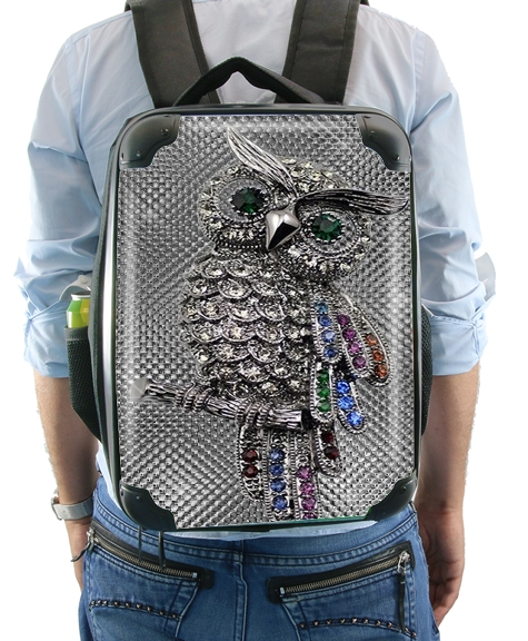 diamond owl for Backpack