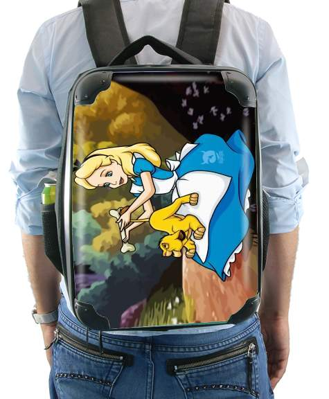 Disney Hangover Alice and Simba for Backpack