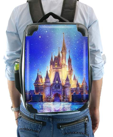Disneyland Castle for Backpack