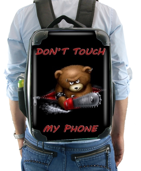 Don't touch my phone for Backpack