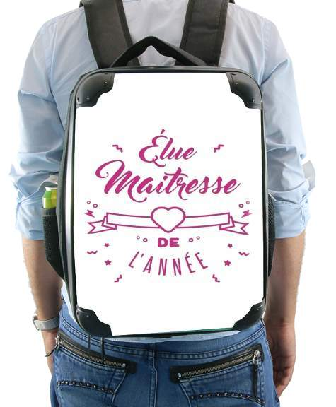 Elu maitresse de lannee cadeau professeur for Backpack