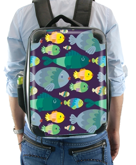 Fish pattern for Backpack