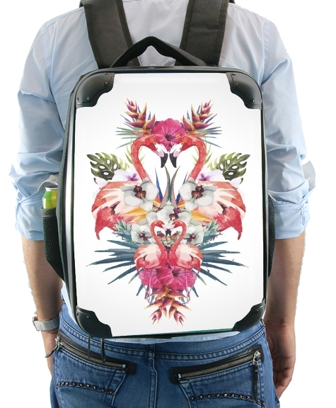 Flamingos Tropical for Backpack