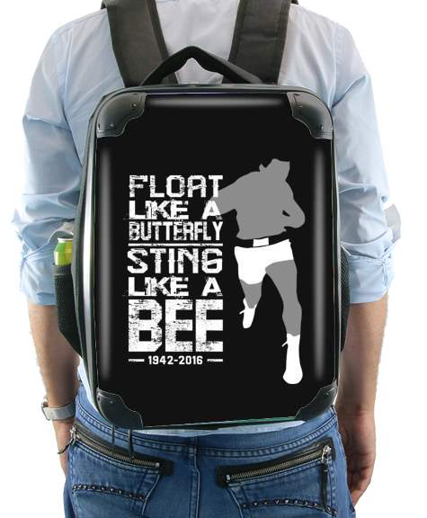 Float like a butterfly Sting like a bee for Backpack