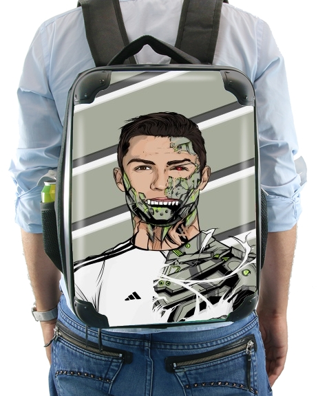 Football Legends: Cristiano Ronaldo - Real Madrid Robot for Backpack
