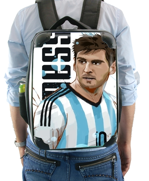 Football Legends: Lionel Messi World Cup 2014 for Backpack