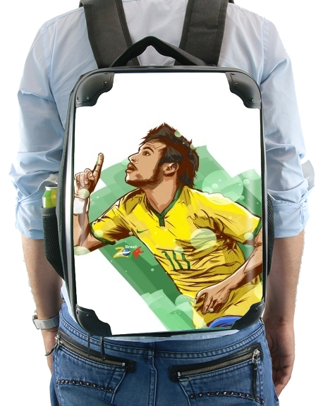 Football Stars: Neymar Jr - Brasil for Backpack