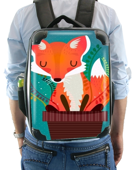 Fox in the pot for Backpack