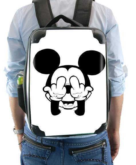 Fuck You Mouse for Backpack