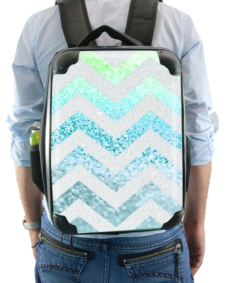 FUNKY CHEVRON BLUE for Backpack