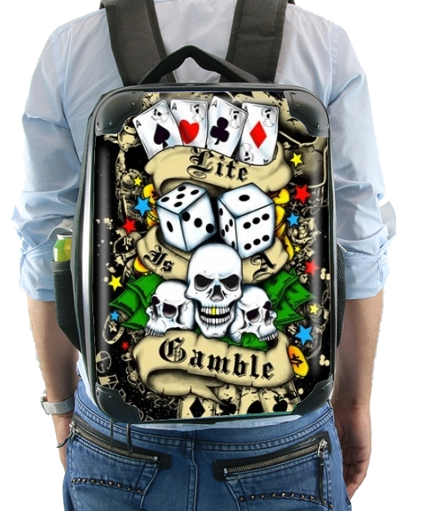 Love Gamble And Poker for Backpack