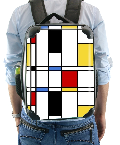 Geometric abstract for Backpack