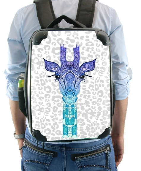 Giraffe Purple for Backpack