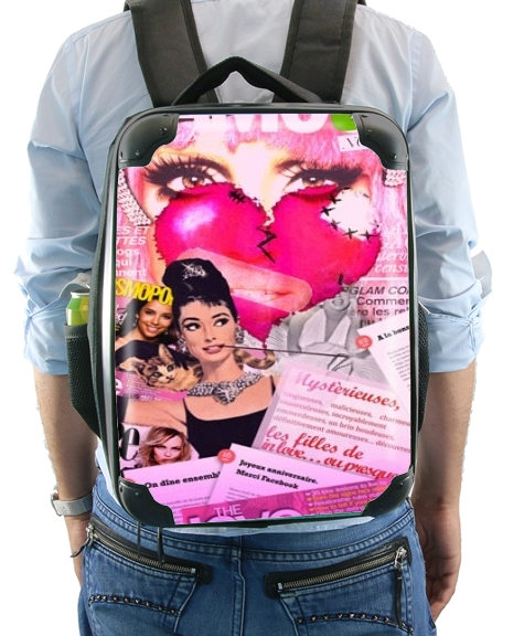 Glamour So Gaga Pink for Backpack