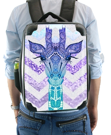 GLITTER GIRAFFE for Backpack