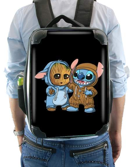 Groot x Stitch for Backpack