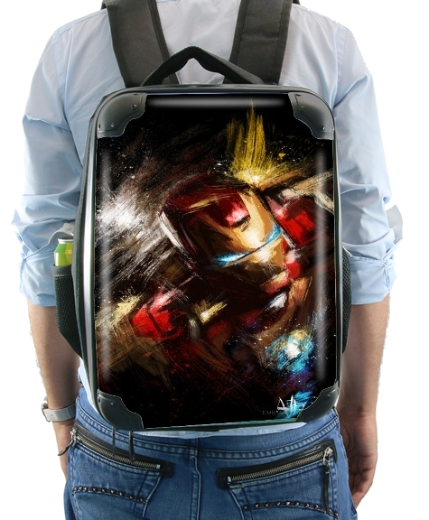 Grunge Ironman for Backpack