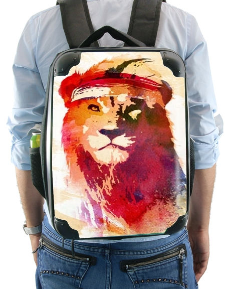 Gym Lion for Backpack