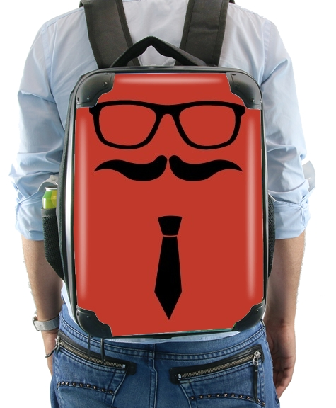 Hipster Face for Backpack