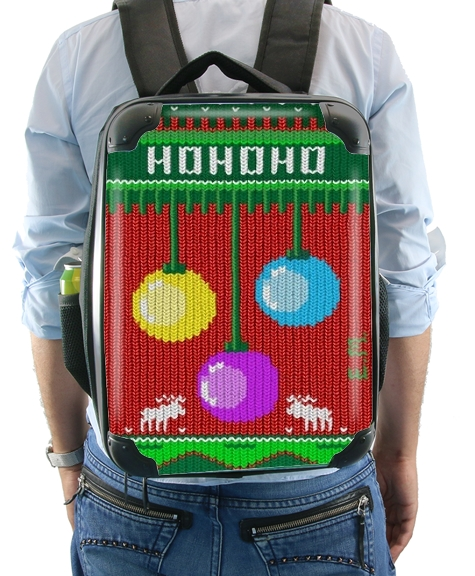 Hohoho Chrstimas design for Backpack