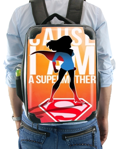 I am a super mom for Backpack