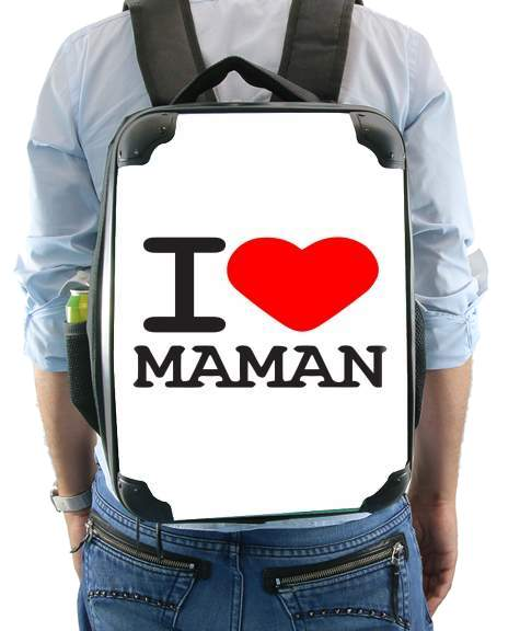 I love Maman for Backpack
