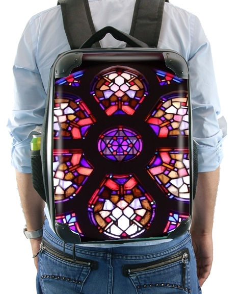 Iglesia del Valle Rosary Window for Backpack