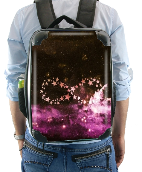 Infinity Stars purple for Backpack