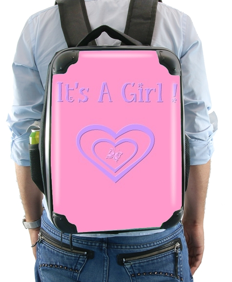 It's a girl! gift Birth  for Backpack