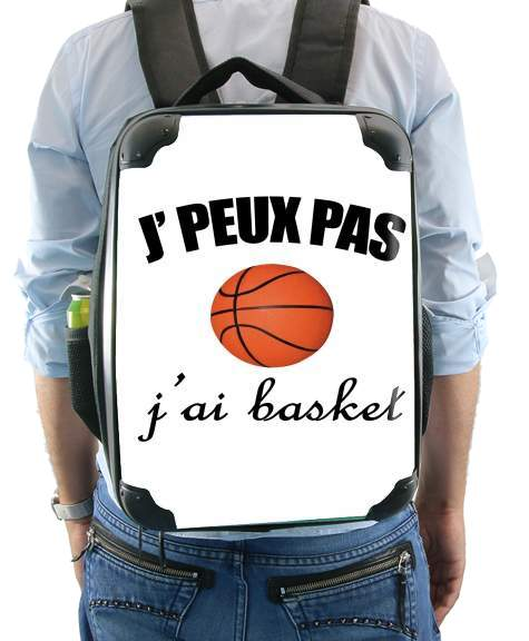 Je peux pas j ai basket for Backpack
